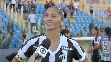 Ceará perde para a Portuguesa, mas avança no Brasileirão Feminino - Confira os gols da partida