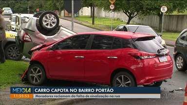 BPTran divulga dados de acidentes em Curitiba - Mais de 1.800 acidentes foram registrados só nos primeiros 4 meses do ano em Curitiba.