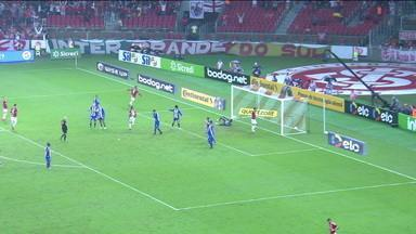 Com dois gols de Guerrero, Inter vence o Paysandu na Copa do Brasil - Com dois gols de Guerrero, Inter vence o Paysandu na Copa do Brasil