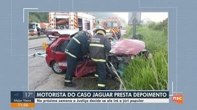 Motorista admite que ingeriu bebida alcoólica no acidente que matou duas jovens na BR-470 - Motorista admite que ingeriu bebida alcoólica no acidente que matou duas jovens na BR-470