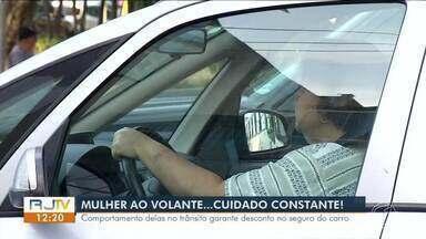 Comportamento das mulheres no trânsito garante desconto no seguro do carro - Mulheres se envolvem em menos acidentes.