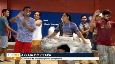 Quadrilhas se preparam para o Arraiá do Ceará - Confira mais notícias em g1.globo.com/ce