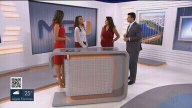 Equipe do Bom Dia Minas vai a Uberlândia em comemoração aos 30 anos no ar - Programação da TV Integração foi especial nesta sexta-feira (24). Apresentado diariamente de Belo Horizonte, duas apresentadoras foram ao Triângulo Mineiro e, direto do Parque do Sabiá e do MG1, deram as notícias do dia.