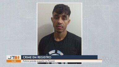 Suspeito de matar casal em Registro é preso pela Polícia Civil - O crime aconteceu em março do ano passado.