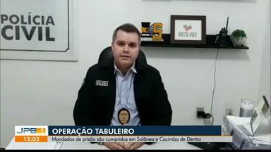 Seis presos na Paraíba suspeitos de tráfico de drogas - Mandados de prisão foram cumpridos em Solânea e Cacimba de Dentro.