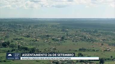 Obras se multiplicam no Assentamento 26 de Setembro - Invasão cresceu seis vezes nos últimos anos ao lado de proteção ambiental do Parque Nacional de Brasília.