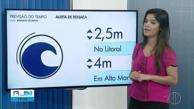 Confira a previsão do tempo para este sábado (25) no interior do Rio - Assista a seguir.