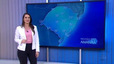 Sábado (25) deve amanhecer com temperaturas abaixo dos 10ºC - Assista ao vídeo.