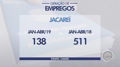Economia da região cria 1,2 mil empregos em abril, diz Caged - Esse foi o terceiro abril consecutivo que o saldo na geração de empregos na região foi positivo. Cidade com maior saldo na criação de vagas com carteira assinada foi São José.