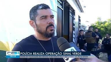 Polícia prende chefe de fiscalização de trânsito e secretário municipal em Nova Olinda - Confira mais notícias em g1.globo.com/ce