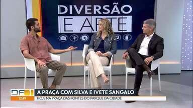 Agenda de diversão e arte com música - O Bloco do Silva vai se apresentar neste sábado junto com a Ivete Sangalo no Parque da Cidade, o DF1 entrevistou o cantor. E veja mais dicas de música para aproveitar o fim de semana na nossa agenda de música.