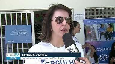 TV Asa Branca realiza projeto 'Saúde nos Bairros' no Vassoural - População recebeu diversas ações de saúde.