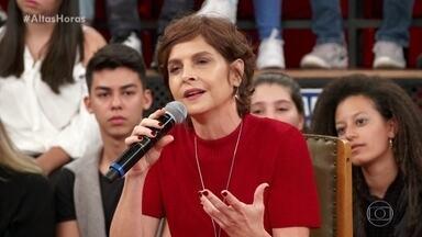 """Drica Moraes fala de """"Sob Pressão"""" e relembra leucemia - A atriz fala da experiência de viver médica na série"""