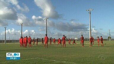 Após empate com o Vila Nova, CRB volta a treinar - Reapresentação ocorreu nesta segunda-feira (27).