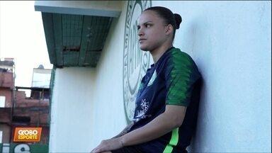 Marluce, atacante do Paraisópolis, fala sobre a final da Taça das Favelas; Casão comenta - Marluce, atacante do Paraisópolis, fala sobre a final da Taça das Favelas; Casão comenta