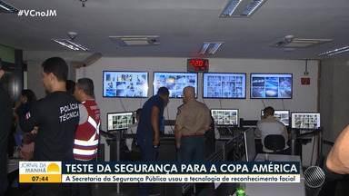Forças de segurança fazem testes para a Copa América - Salvador será uma das sedes do evento internacional.