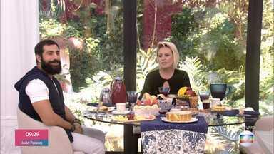 Programa de 30/05/2019 - Ana Maria Braga recebe o ator Kaysar Dadour para o café da manhã. O sírio revela o processo de cidadania brasileira e conta como está a adaptação dos pais e da irmã no Brasil