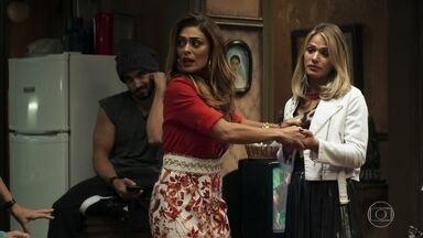 Maria da Paz defende Britney após mudança de gênero - Filha de Eusébio e Dodô não se deixa intimidar pelas provocações da família