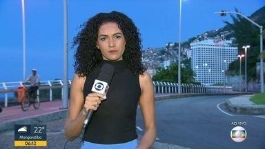 Avenida Niemeyer segue interditada após decisão da justiça - A via é uma das principais ligações entre as zonas Sul e Oeste.