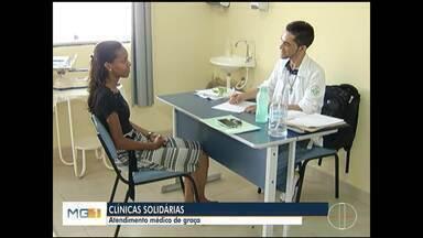 Projeto sociais oferecem consultas, exames e medicamentos em Montes Claros - Projetos ajudam população carente.