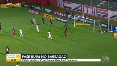 Série B: Vitória perde e amarga a penúltima colocação na tabela - Confira as notícias do rubro-negro baiano.