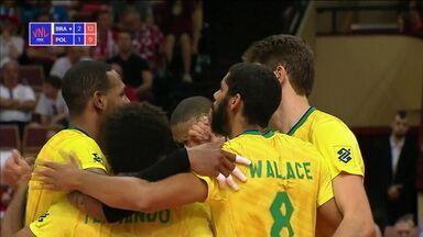 Brasil fecha primeira semana da Liga das Nações com três vitórias - Brasil fecha primeira semana da Liga das Nações com três vitórias