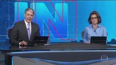 Jornal Nacional, Íntegra 03/06/2019 - As principais notícias do Brasil e do mundo, com apresentação de William Bonner e Renata Vasconcellos.
