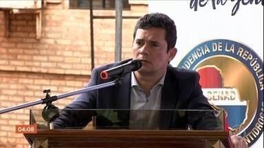 Aviões da PF ajudarão Paraguai a localizar plantações de maconha, anuncia Moro - Acordo foi anunciado em uma reunião entre o ministro da Justiça e representantes do governo paraguaio. O encontro foi na cidade de Pedro Juan Caballero.