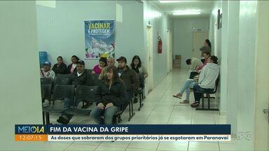 Vacinas contra a gripe esgotam em postos de Cianorte e Paranavaí - Vacina está disponível nas clínicas particulares, por a partir de R$ 100.