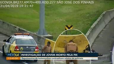 Preso policial suspeito de matar motoboy e plantar arma no local do crime - Crime foi nesta segunda-feira na BR-277 em São José dos Pinhais.