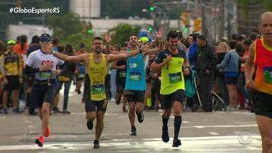 Comunicador Diori Vasconcellos cumpre seu objetivo na Maratona de Porto Alegre - Assista ao vídeo.
