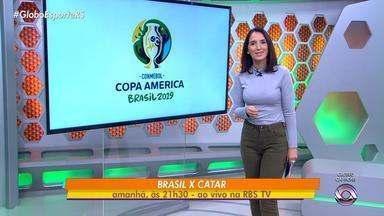 Globo Esporte RS - Bloco 1 - 04/06/19 - Assista ao vídeo.