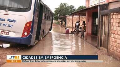 Oito cidades da região oeste do Pará continuam em situação de emergência - Nível do rio continua alto e defesa civil continua fazendo monitoramento das áreas.