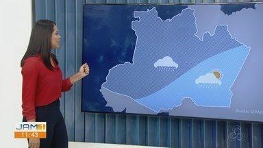Confira a previsão do tempo para o Amazonas, nesta terça-feira (4) - Karla Melo comenta.