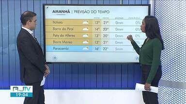 Quarta-feira será de tempo nublado no Sul do Rio de Janeiro - Temperaturas ficam em torno dos 20º em algumas cidades da região.
