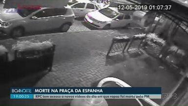 Relatório dá detalhes da ação da PM no caso da morte de Andrei Francisquini - Nossa equipe teve acesso a novos vídeos de câmeras de segurança.