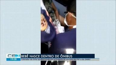 Bebê nasce dentro de ônibus em Fortaleza - Confira mais notícias em g1.globo.com/ce