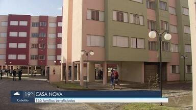 Mais de 160 famílias são beneficiadas no bairro Jardim São Manoel, em Santos - Casa nova e vida nova para os moradores do bairro.