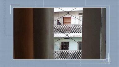 Vizinhos denunciam assaltos ao Edifício Holiday - Fotos mostram um homem circulando pelos arredores do prédio, em Boa Viagem.