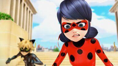 Temporizadora - O colega de classe de Alix quebra um relógio caro por acaso e a transforma em temporizadora. Ao tentar salvá-la, Ladybug volta no tempo e vê versões diferentes dela mesma.