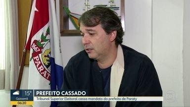 TSE cassa mandato do prefeito de Paraty - Presidente da Câmara assumiu o cargo.