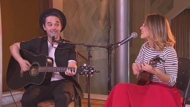 Parceria na vida e na música - Mila e Marcus se inspiram na relação a dois para compor canções.