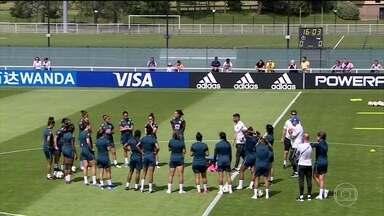 Seleção feminina se prepara para a estreia no Mundial - Brasil enfrentará a Jamaica neste domingo.