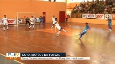 27ª Copa Rio Sul de Futsal: confira expectativa para a final em Volta Redonda — Parte 2 - Mendes e Piraí entram em quadra às 14h na Arena Multiuso, na Ilha São João.