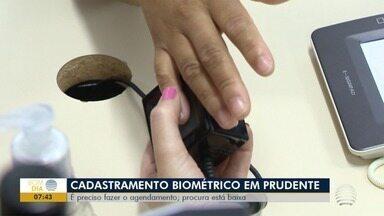 Procura por cadastramento biométrico é baixa em Presidente Prudente - Situação preocupa a Justiça Eleitoral.