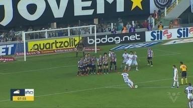 Santos vence o Atlético Mineiro pelo Campeonato Brasileiro - Peixão venceu o Galo por 3x1 na Vila Belmiro.