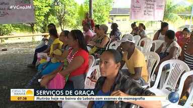 Mutirão oferece mamografias gratuitas para mulheres no Lobato - Confira os detalhes e veja como participar.