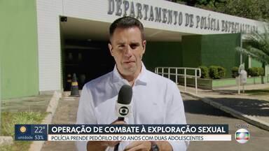 Pedófilo é preso no DF em flagrante com duas adolescentes - O homem de 50 anos se apresentava como empresário e morava em hotel de luxo na beira do Lago Paranoá.