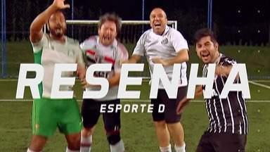 Resenha 2019: Palmeiras vence e segue firme na liderança do Brasileirão - Rodada dos paulistas também teve vitória do Santos e empates de Corinthians e São Paulo.