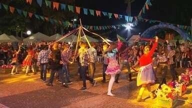 Moradores de Penápolis aproveitam festa junina na cidade - Os moradores de Penápolis (SP) aproveitaram a festa junina que aconteceu neste final de semana na cidade. É um evento tradicional que acontece há 28 anos.